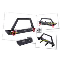 Bumper Bamper Depan Metal Alloy KYX RC Car Crawler Adventure