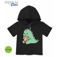 Baju Cute Dino Baby dinosaurs Hoodie Anak Premium Original #KDA-21