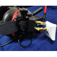 DJI FPV Goggles URUAV v2 Fatshark Analog Modul Adapter Case and Mount
