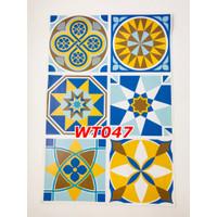 WT47 Wallpaper Tiles Sticker / Sticker Tegel