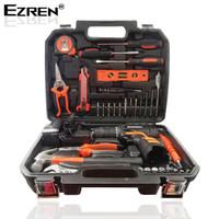 Ezren EZ-554 35pcs Mesin Cordless Bor Drill 25V Cordless Obeng Listrik