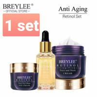 Breylee Retinol Krim cream Pengencang / Anti Aging / Kerut kulit wajah