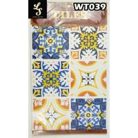 WT39 Wallpaper Tiles Sticker / Sticker Tegel