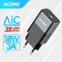 ACOME Charger Single USB QC3.0 18W Fast Charging Garansi 12 Bulan AC01