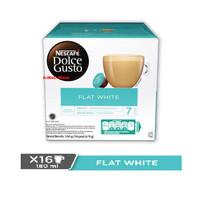 Nescafe Dolce Gusto Capsule Flat White 1 Box Kapsul Kopi