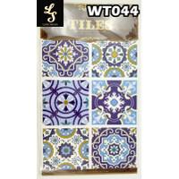 WT44 Wallpaper Tiles Sticker / Sticker Tegel