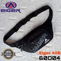 waistbag tas selempang sling bag eiger black