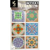 WT41 Wallpaper Tiles Sticker / Sticker Tegel
