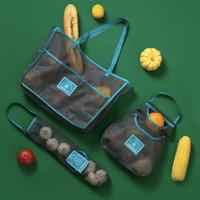 Tas Jaring Kantong Gantung Simpan Buah Sayur Bawang Baggu Shopping Bag