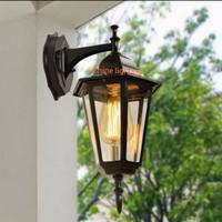 Lampu dinding klasik outdoor waterproof teras tipe LD1009 A/S