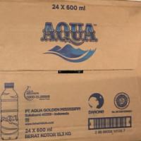 aqua botol 600ml isi 24 , Aqua botol 1500ml isi 12