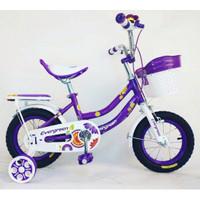 Sepeda Anak Evergreen Daisy 12 / 16 Perempuan Cewek SNI COD NEW Kredit