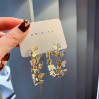 Hoop Butterfly earring / anting bulat kupu-kupu fashion wanita korea