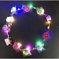 Bando LED Bunga Daun untuk Anak/Dewasa