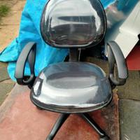 Kursi kantor pakai lengan/kursi kerja/kursi belajar bahan oscar