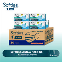 Softies Surgical Mask 30s 1 ctn