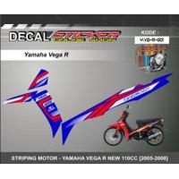 STIKER MOTOR YAMAHA VEGA R NEW 110CC [2005-2008] Decal Striping Racing