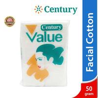 Kapas Wajah Century Facial Cotton 50 gr / Kapas Kecantikan / Kapas