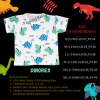 Baju kaos atasan bayi anak laki laki cowok full print murah kekinian - DINOREX, S