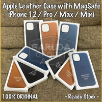 Original Apple leather cover Case Magsefe Iphone 12 iphone 12 Pro 100%