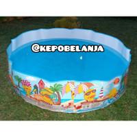 TERMURAH kolam renang anak tanpa perlu dipompa pompa intex 58477