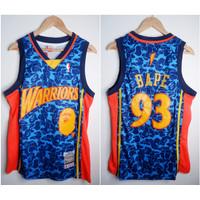 JERSEY NBA BAPE X WARRIORS #93 DONGKER