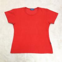 Kaos Wanita - Atasan Wanita Warna Merah