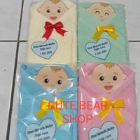 Souvenir Handuk Bayi 30x30/Kelahiran/Baby Born/One Month/Aqiqah