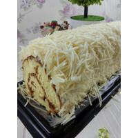 Roll Keju Serut kue Bolu Gulung PREMIUM / Kue Arisan Lebaran & Natal