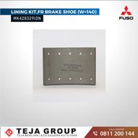 MK428329IDN / Brake Lining FR (W=140) / Kampas Rem Depan Fuso FM517