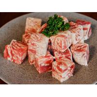 Beef Saikoro Wagyu Premium Meltique / Beef Cube Premium 500gram