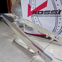 Swing Arm / Lengan Ayun Ninja RR 150 Silver Polish/Crhome
