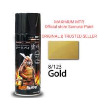 Samurai paint/gold 123-cat semprot aerosol