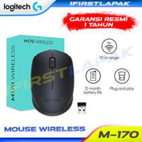 Logitech B175 Mouse Wireless Original Mouse tanpa Kabel M171 M170