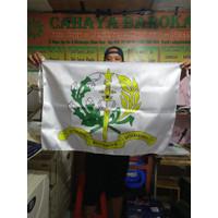 Promo Cetak bendera bahan satin ukuran 60*90 cm