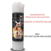 Samurai paint/Clear 2K-vernis highgloss sebening kaca-cat semprot