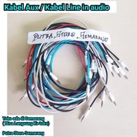 Kabel aux Kabel auk kabel line kabel audio 3.5 ke 3.5 Kabel audio