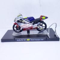 DIECAST MOTOGP APRILIA LEO MODELS MINIATUR MOTOR GP VALENTINO ROSSI