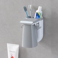 Toiletries Rack 208 Tempat sikat gigi magnetis dilengkapi gelas kumur
