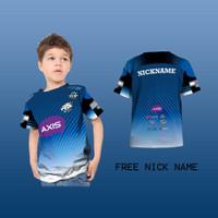 T Shirt/Kaos Anak Pria/Wanita/kaos Jersey Evos Esport Gaming 2020
