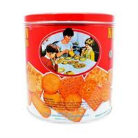 Khong guan Assorted Red Mini 650 gr Biskuit Biscuit KHONG GUAN Kaleng