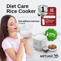 Artugo Low Carbo Rice Cooker CR 7002 DW