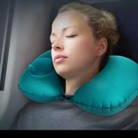 romix bantal leher neck pillow empuk dan nyaman