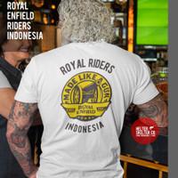 T-Shirt Kaos Royal Enfield Motor Rider Brotherhood Indonesia