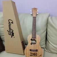 Gitar Ukulele Cowboy 23 inch Original/gitar kecil senar 4/gitar mini