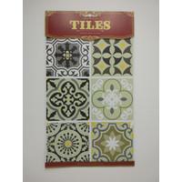 WT48 Wallpaper Tiles Sticker / Sticker Tegel