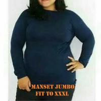 Baju Manset Wanita Jumbo Fit To XXXL Manset Dalaman Gamis Big Size SMH