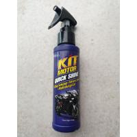 kit motor quick shine 100 ml pelindung pengkilat body sepeda motor