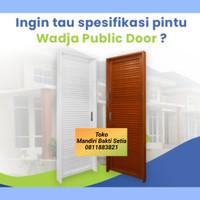 Pintu Kamar Mandi / Pintu Baja ( Wadja Public Door )