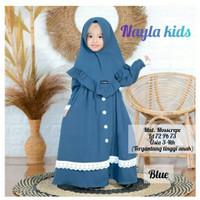NAYLA SYARI KIDS Baju Anak Perempuan Murah Muslimah Usia 3 - 4 Tahun